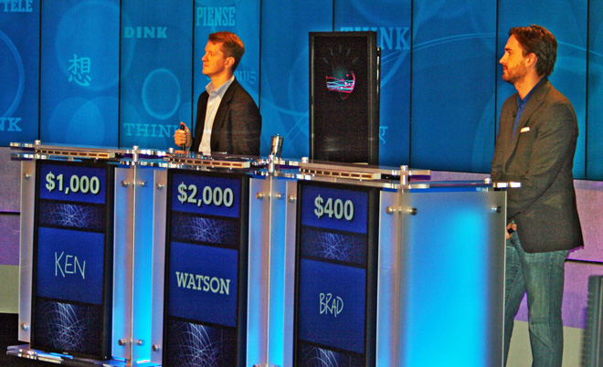 Watson – The Robot Game ShowContestant