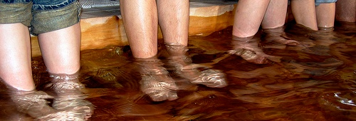 Scientists show you can't get drunk by placing your feet inVodka