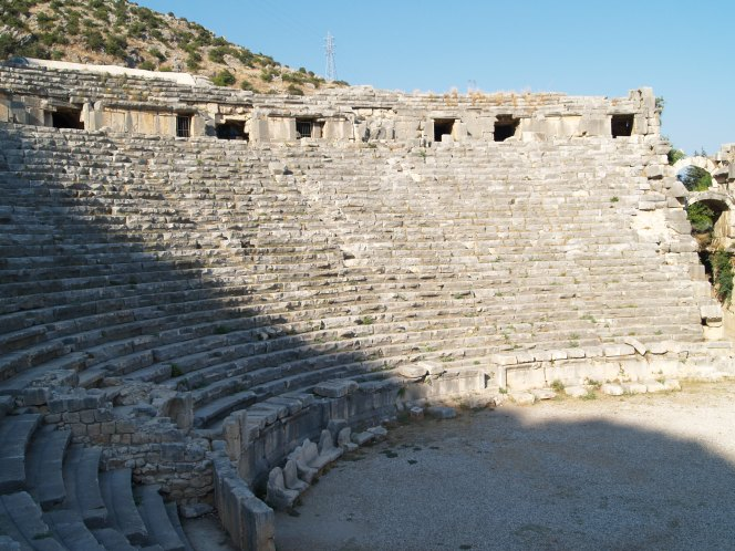 Scientists show the evolution of the Amphitheatre
